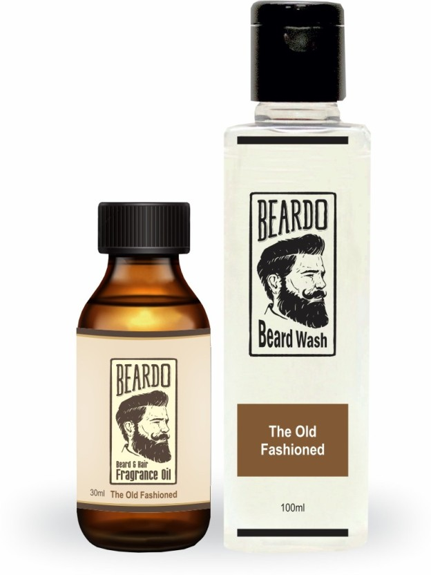 Beardo The Old Fashioned Beard Oil (30ml) & Beard Wash Combo (100ml)