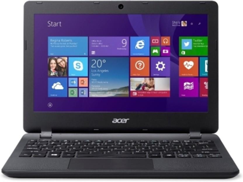 Acer E Series Celeron Dual Core 4th Gen - (2 GB/500 GB HDD/Windows 10 Home) ES1-131-C8RL Laptop