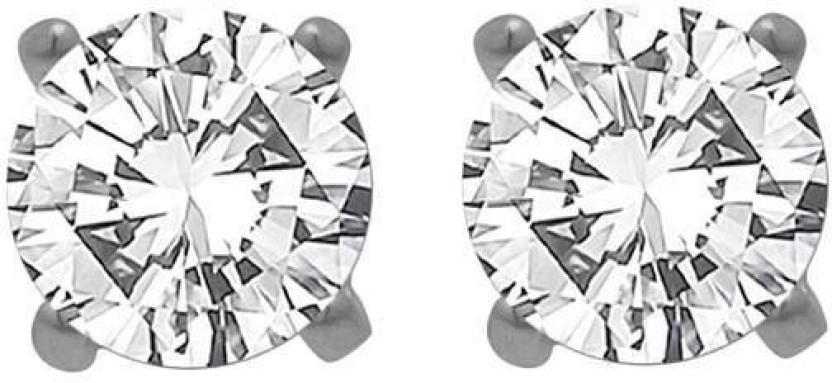 Factorywala SIZZLING STERLING 92.5 Silver Stud Earring