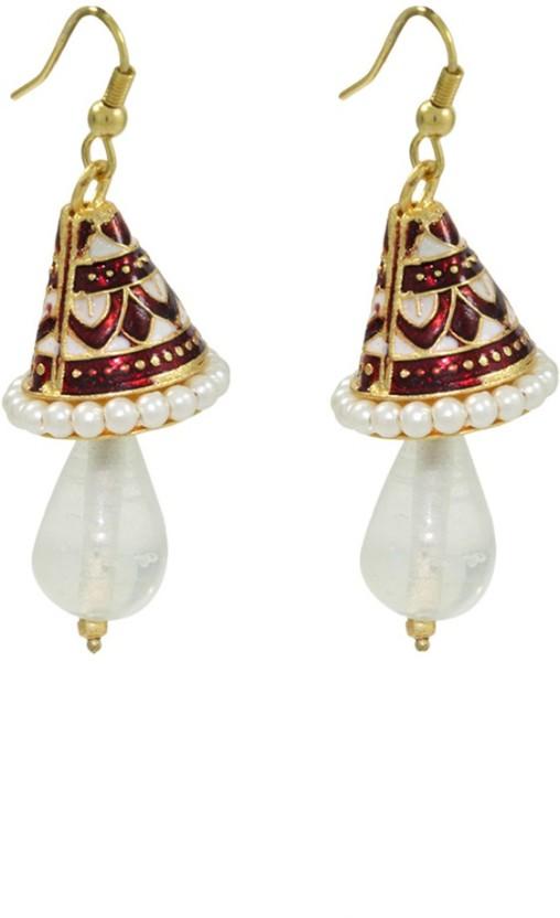 Frabjous Rain Alloy Dangle Earring