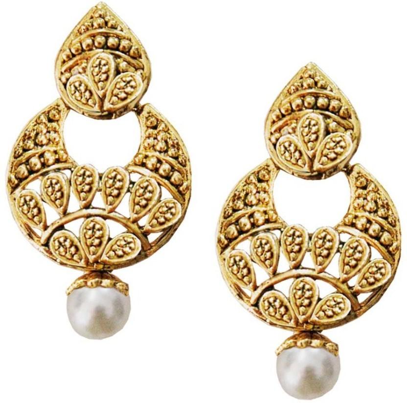 Being Women designer pearl drop fashion Alloy Drop Earring