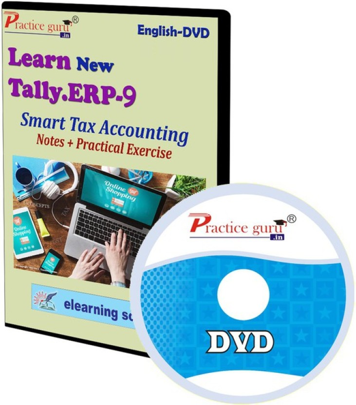 Practice Guru Tally ERP 9 Smart Tax Accounting Notes + Practical Exercise