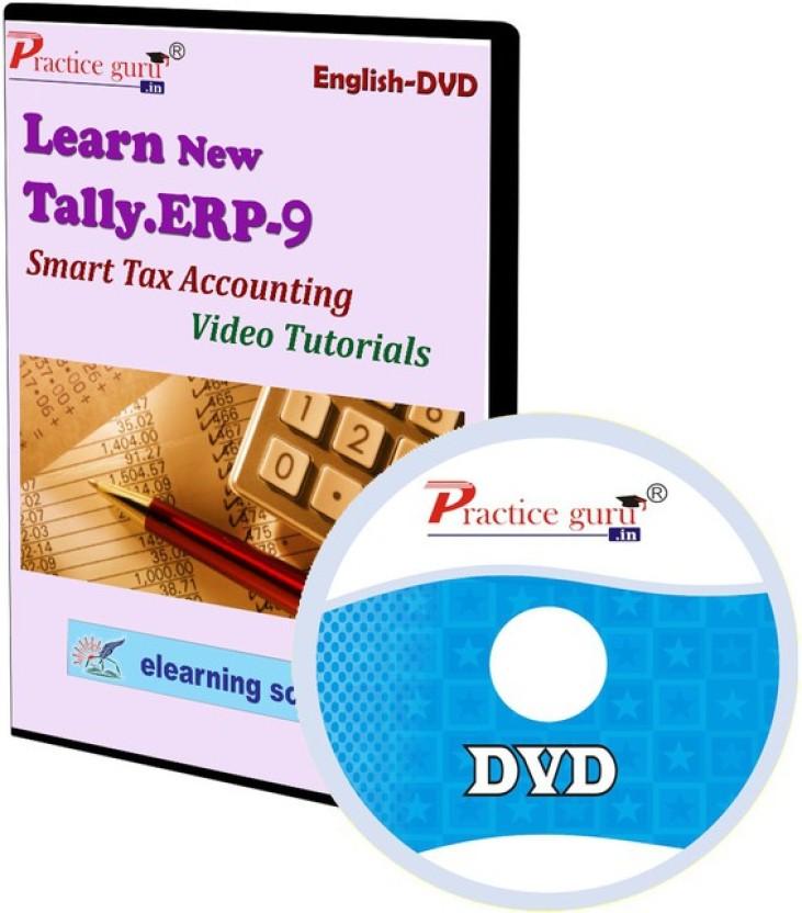 Practice Guru Tally.ERP 9 Smart Tax Accounting Video Tutorial