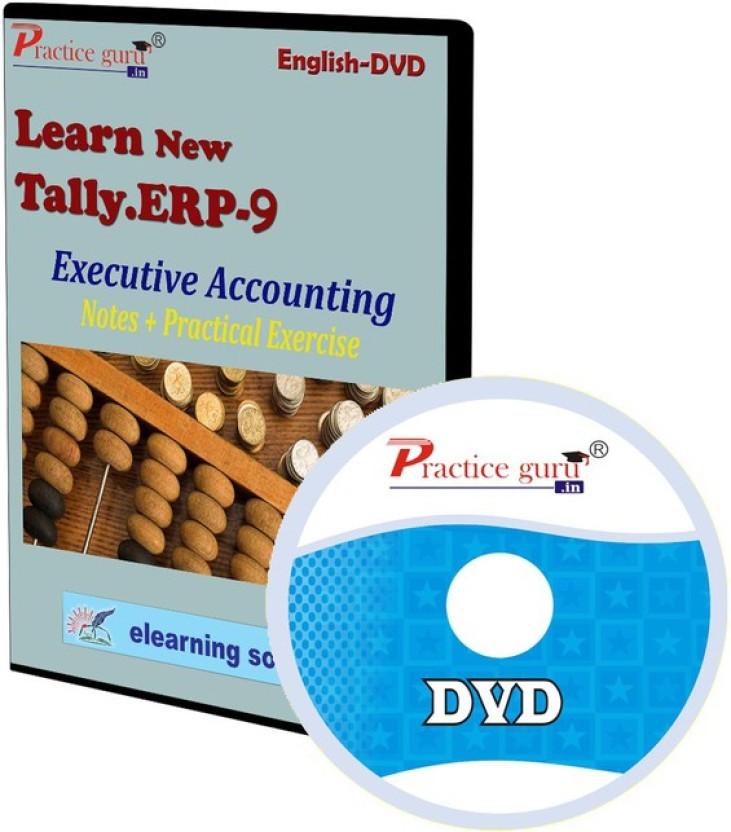 Practice Guru Tally ERP 9 Executive Accounting Notes + Practical Exercise