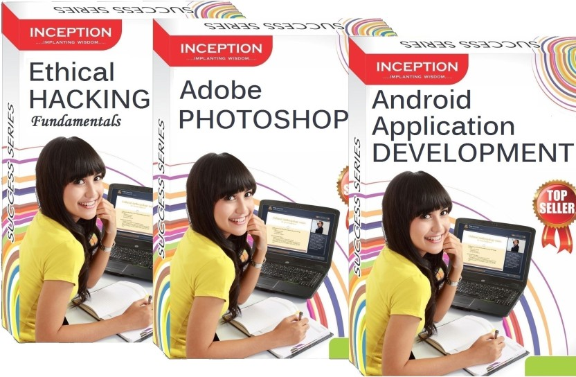 Inception Learn Ethical Hacking+Android App. Development+Adobe Photoshop (Inception Success Series - 3 Cds)