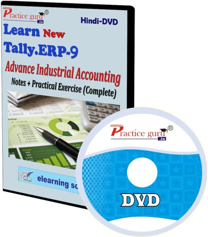 Practice Guru Tally ERP 9 Advance Industrial Accounting Notes + Practical Exercise