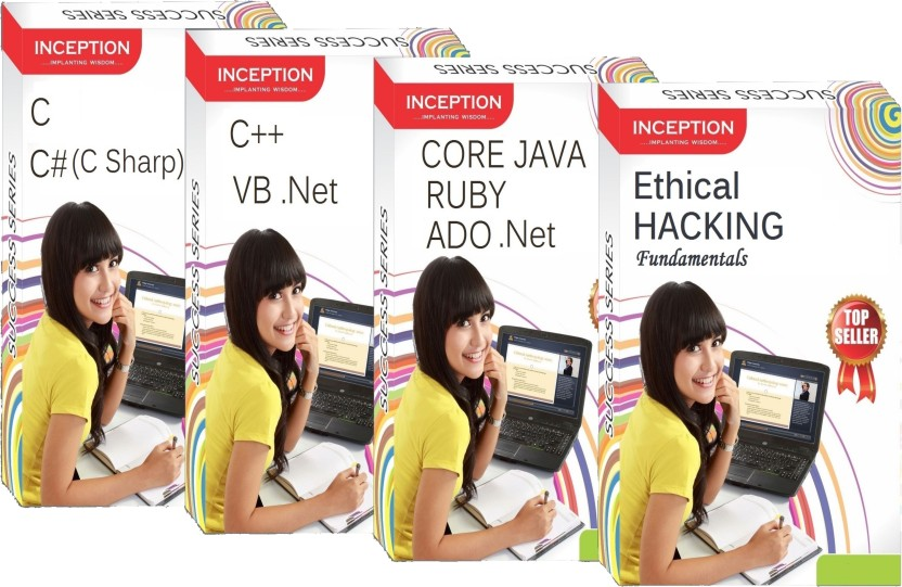 Inception Learn ETHICAL HACKING, C, C++, CORE JAVA, ADO .Net, RUBY, C# (C Sharp) and VB .Net - 8 FULL COURSES Pack