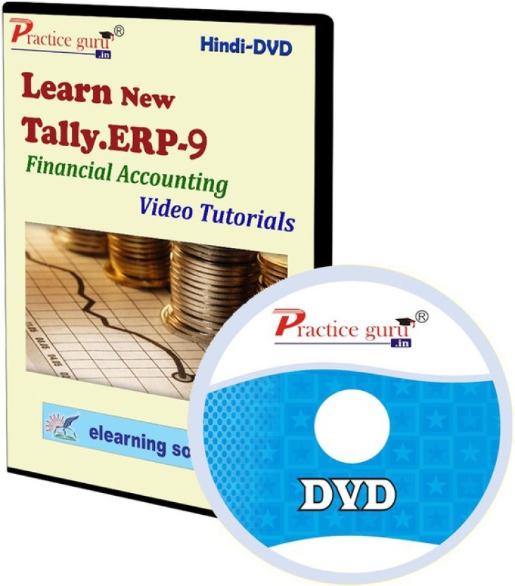Practice Guru Tally.ERP 9 Financial Accounting Video Tutorial