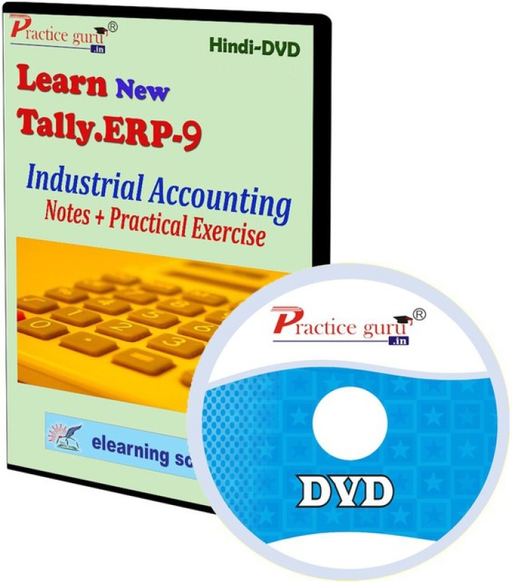 Practice Guru Tally ERP 9 Industrial Accounting Notes + Practical Exercise