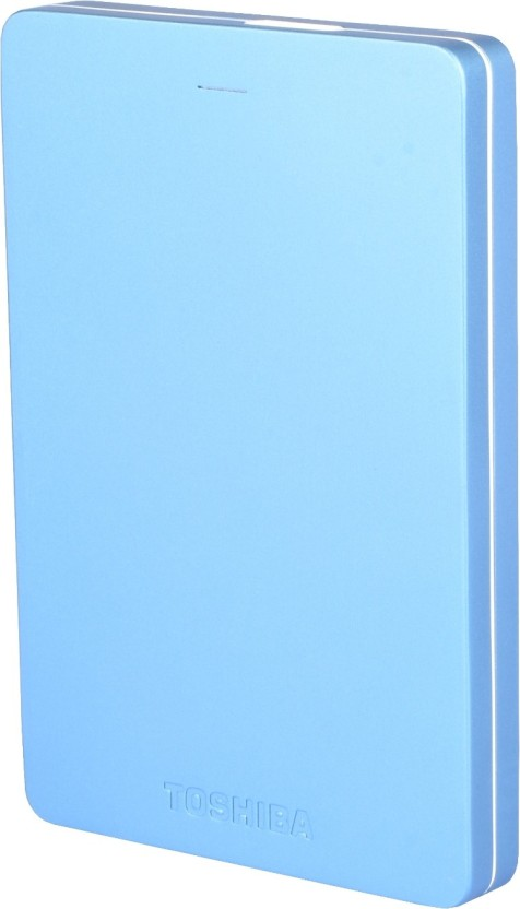 Toshiba Canvio Alumy 1 TB Wired External Hard Disk Drive