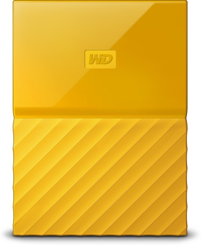 WD 4 TB Wired External Hard Disk Drive