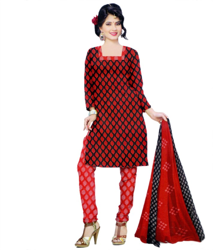 Miraan Crepe Printed Salwar Suit Dupatta Material