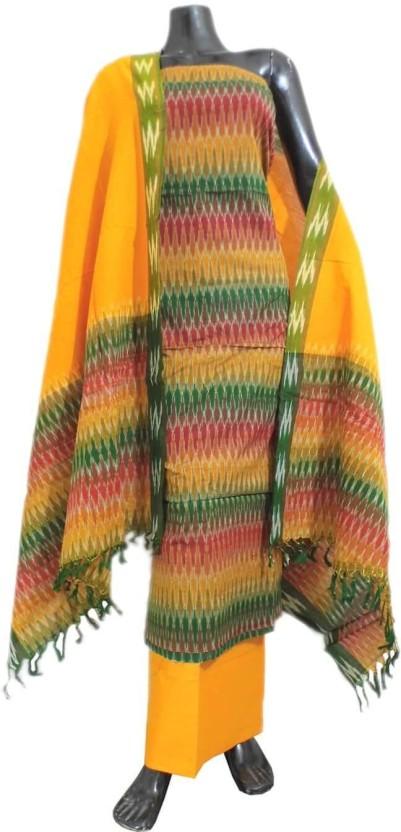 GiftPiper Cotton Woven Salwar Suit Dupatta Material