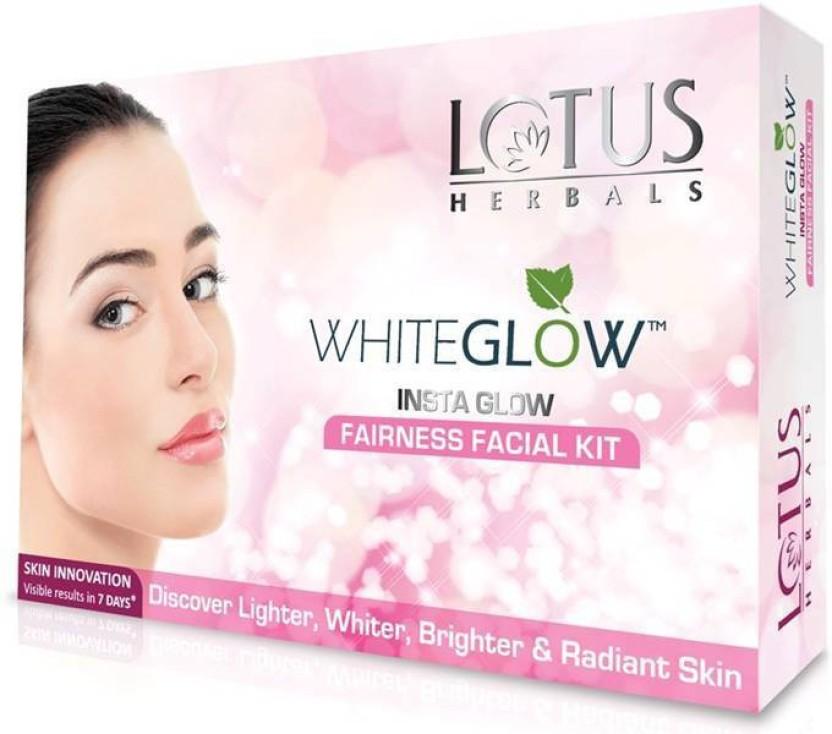 Lotus WhiteGlow InstaGlow Fairness Facial Kit (( 4* 10 g)) ((40g)) (Set of 1) 40 g