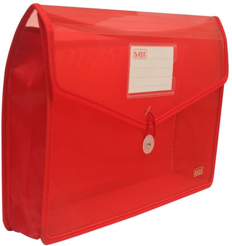 Saya Office Series Polypropylene Clear Bags And Envelopes
