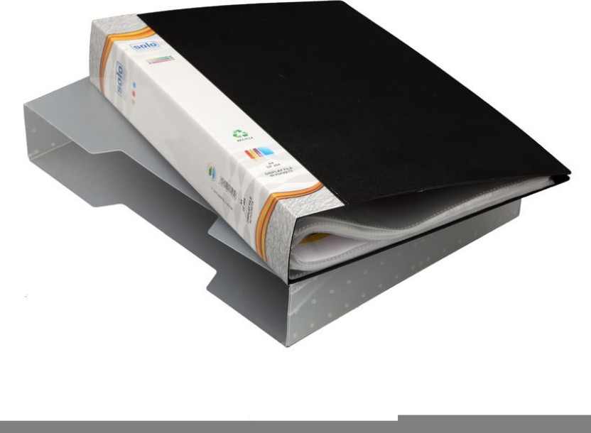 Solo 80 Pockets(in a case) Polypropylene Display File