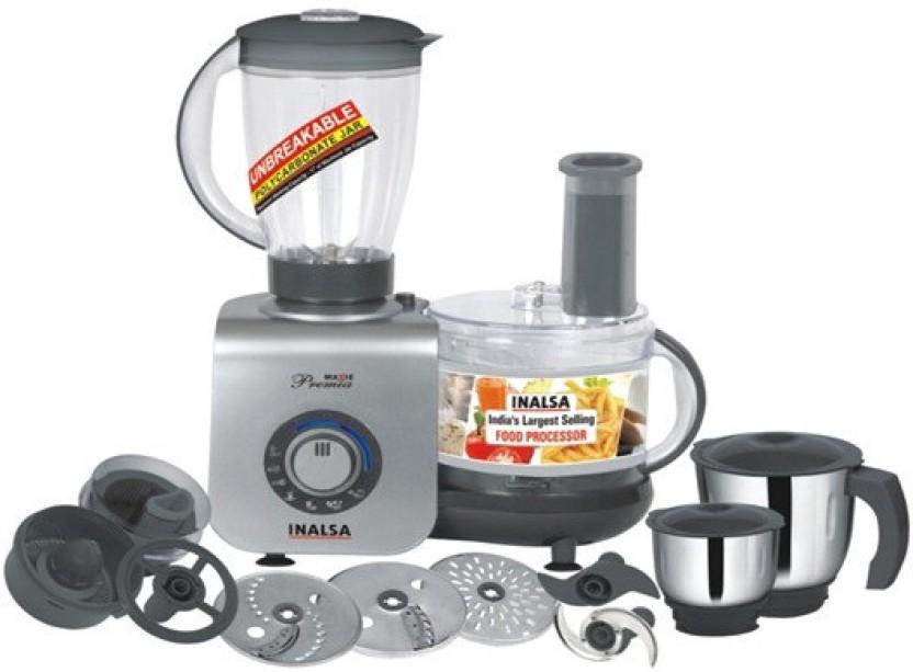 Inalsa Maxie Premia 800 W Food Processor
