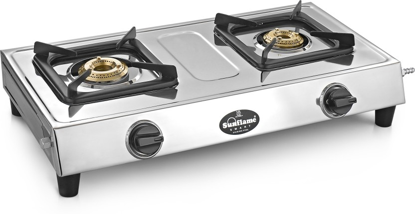 Sunflame Smart Stainless Steel Manual Gas Stove