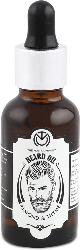 The Man Company Beard Oil - Almond and Thyme Hair Oil