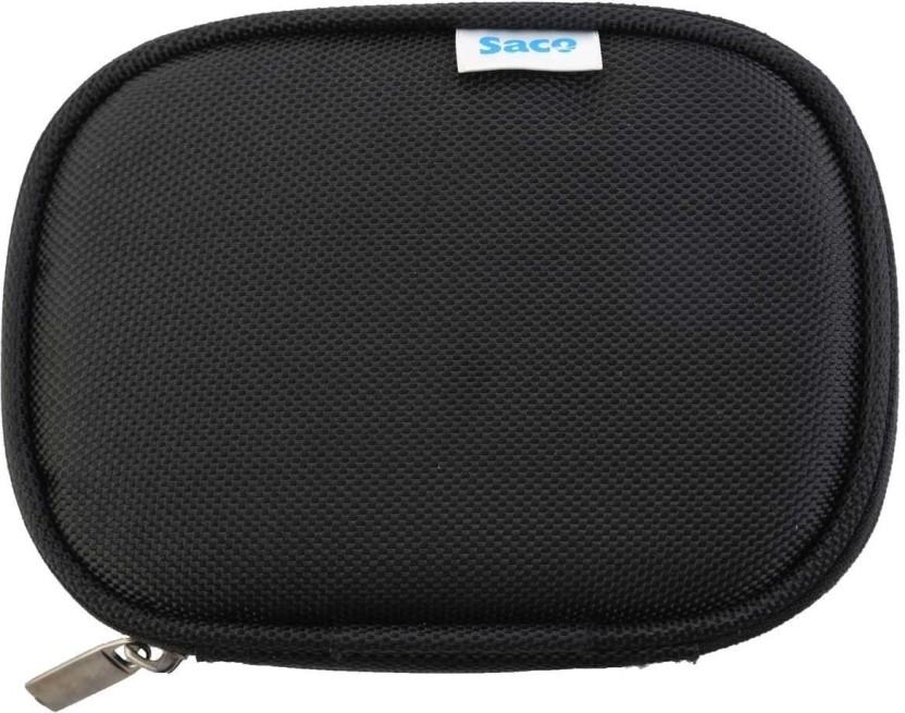 Saco 123.Black External Hard Disk Cover