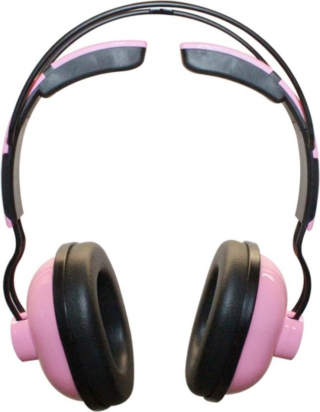 MX 3333-Pink Wired Headphone