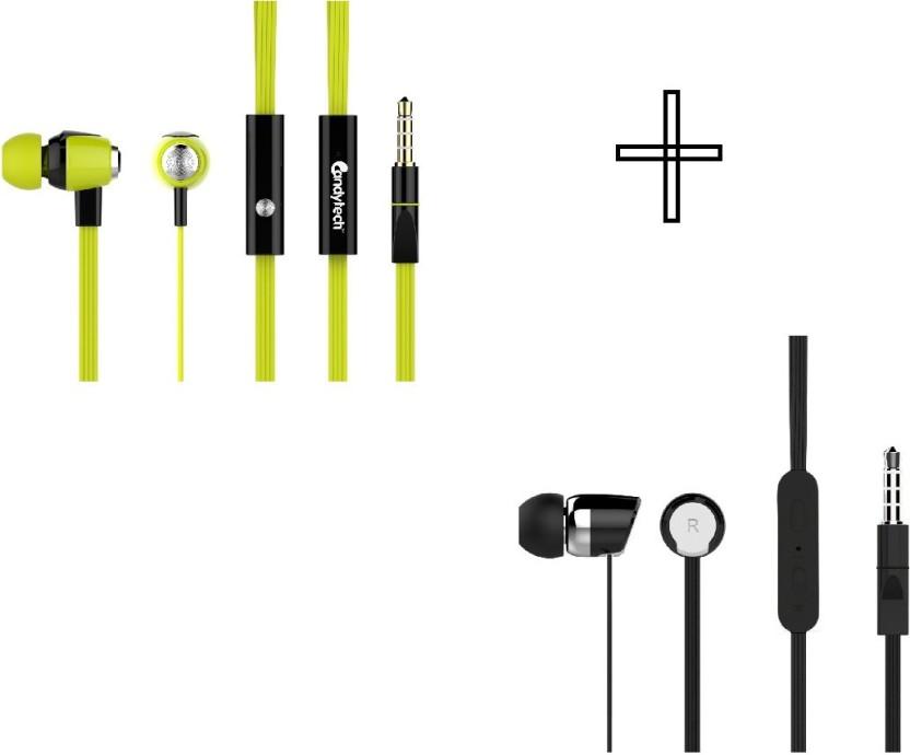 Candytech HF-S-30-GN+HF-S-20-BK Headphone