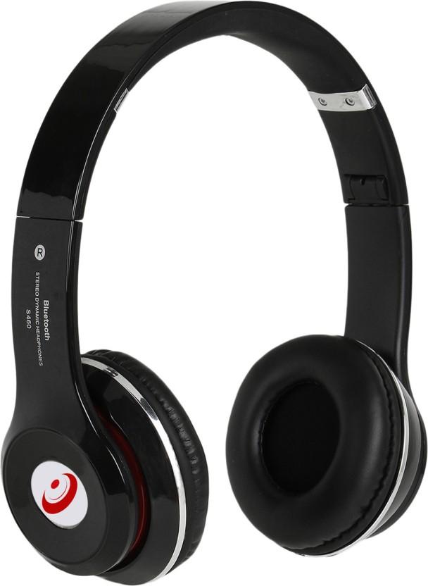 Head Kik Super Quality Solo2 S460 Wireless Bluetooth Headset Black Bluetooth Headphone