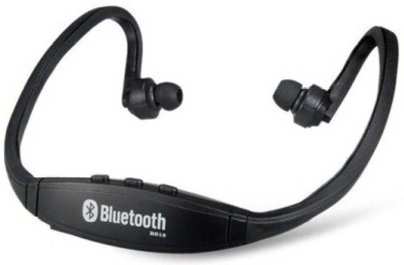 Head Kik White Solo 2 S460 Wireless Bluetooth Headset Headphone