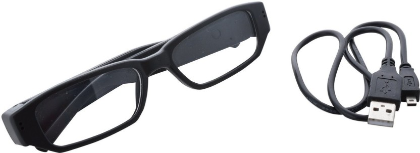 VibeX ® Spy 720 Eyewear Covert Hidden Spy In-built 4GB Memory 1 Channel Home Security Camera