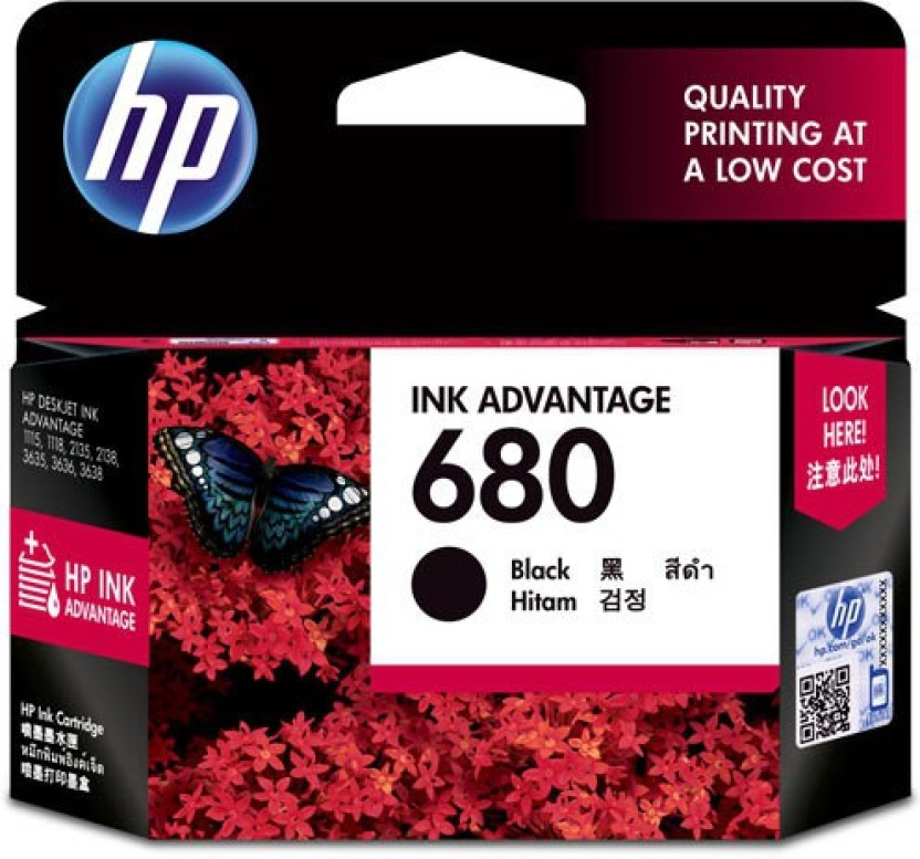 HP 680 Single Color Ink