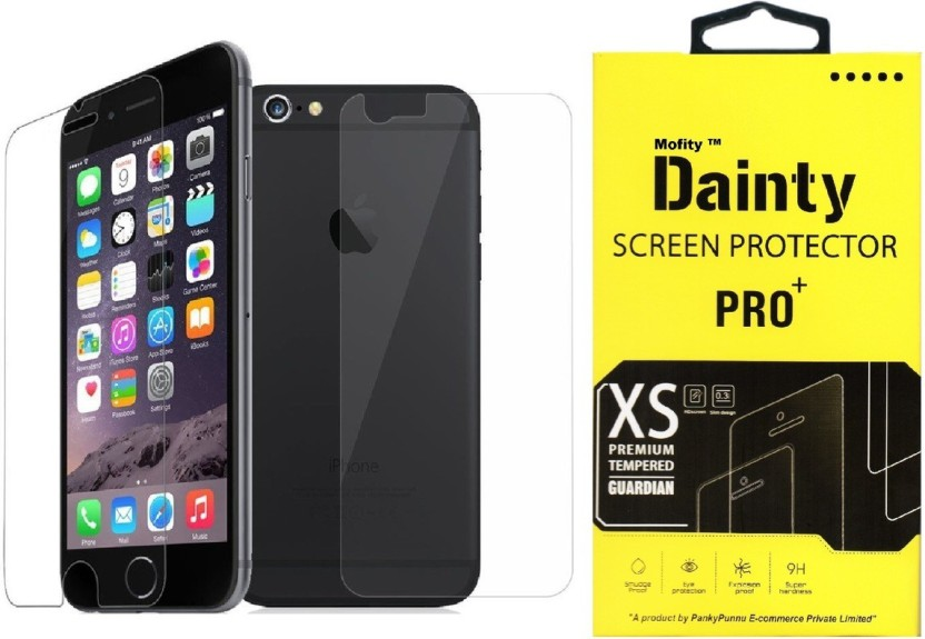 Dainty Tempered Glass Guard for Apple Iphone 5s (4 inch) (Front and Back)