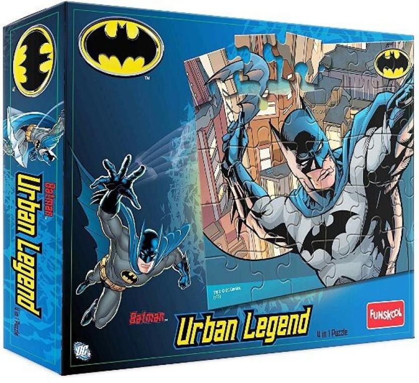 Funskool Lego 4946400 Funskool Batman Urban Legend 4 in 1, Multi Color