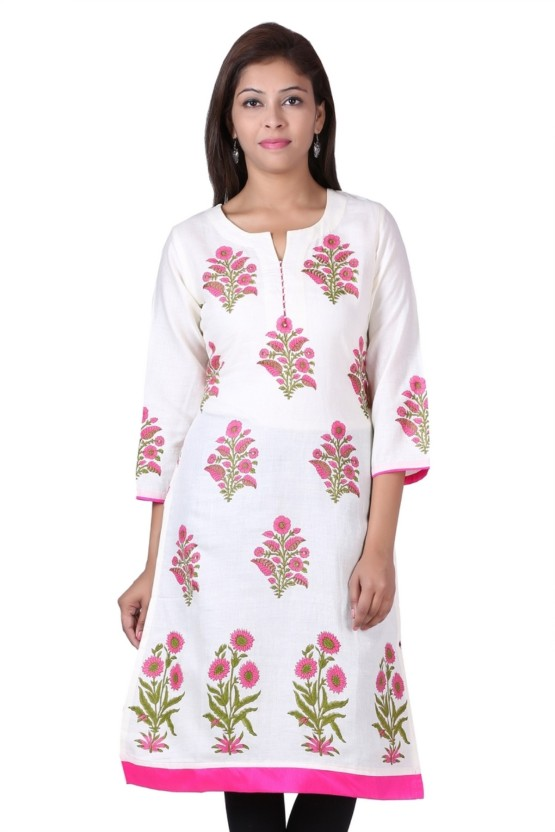 Naksh Jaipur Casual Floral Print Women