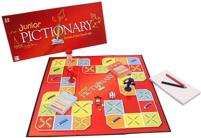 Mattel Games Pictionary Junior Board Game