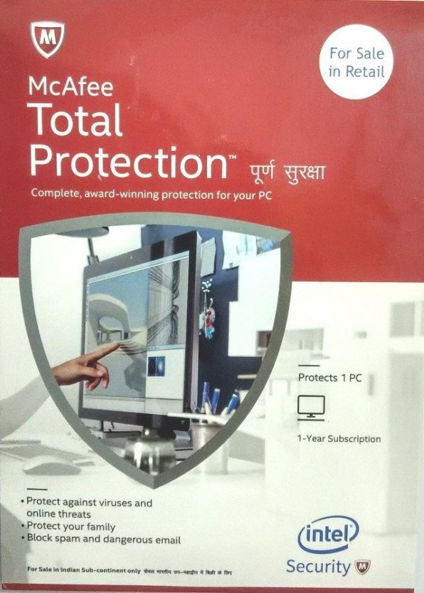 McAfee TOTAL PROTECTION 10 PC 3 YEAR
