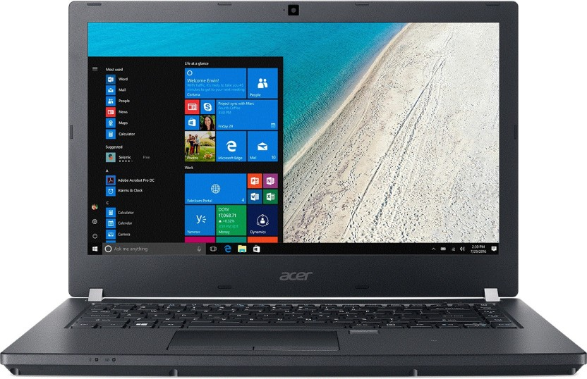 Acer Aspire Core i5 6th Gen - (8 GB/500 GB HDD/128 GB SSD/Windows 10 Pro) P238-M Business Laptop