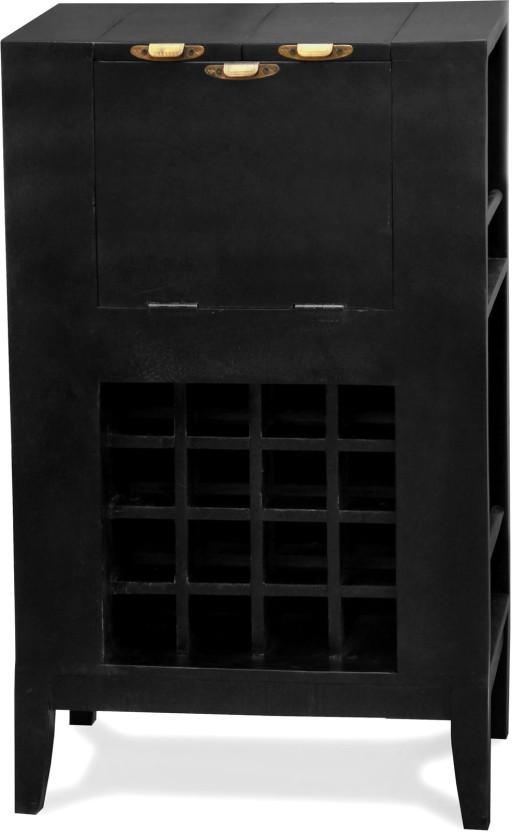 The Attic Eleganza Solid Wood Bar Cabinet
