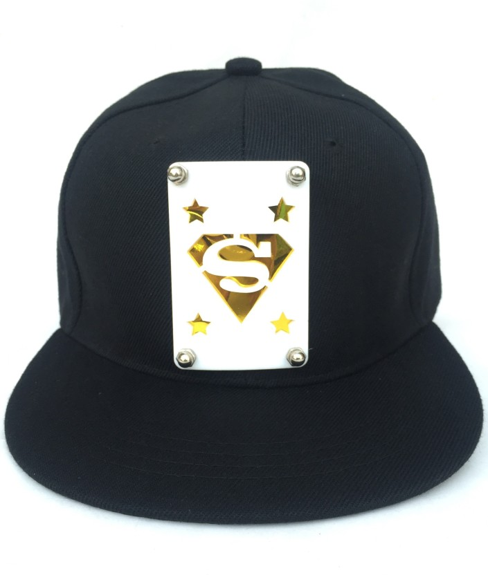 Tiny Seed Solid, Self Design, Embellished skull, Hip Hop, Baseball, Snapback, Trucker, Sports, Cap for men and women Cap