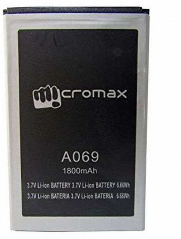 Micromax Mobile Battery For Micromax Bolt A069