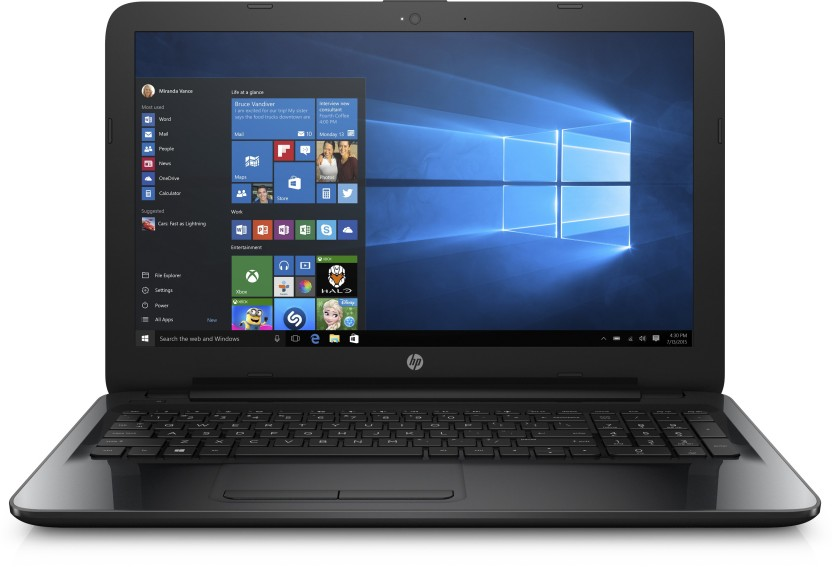HP APU Quad Core A8 - (4 GB/1 TB HDD/Windows 10 Home) 15-BG004AU Laptop