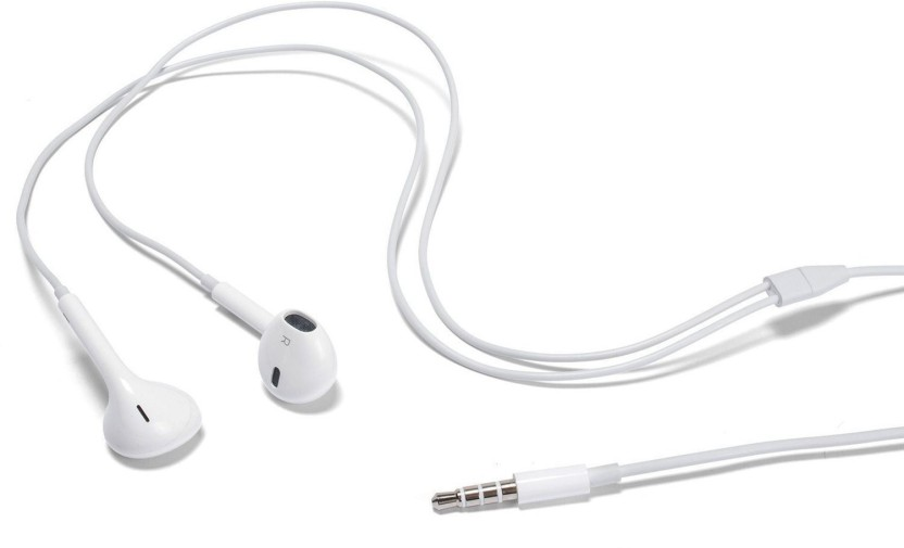Digitalmart High Quality Earphone for Samsung, Sony, HTC and All Android Mobiles and Tablets Stereo Dynamic Headphone Wired Headphones Wired Headset With Mic (White) Headphone