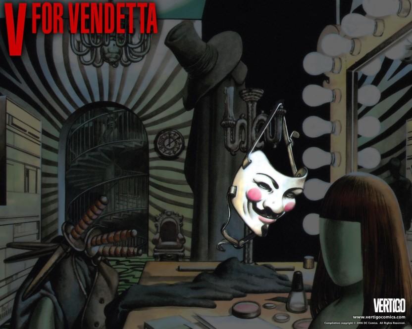 Movie V For Vendetta HD Wallpaper Background Paper Print