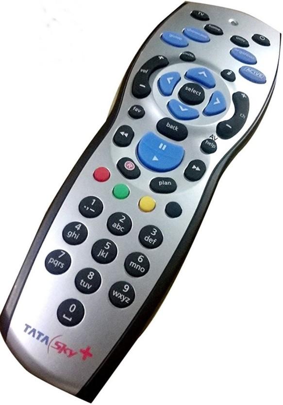 Tata Sky Original HD+ Plus Universal With User Manual Remote Controller