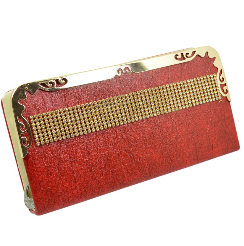 Reiki Crystal Products Casual Red  Clutch