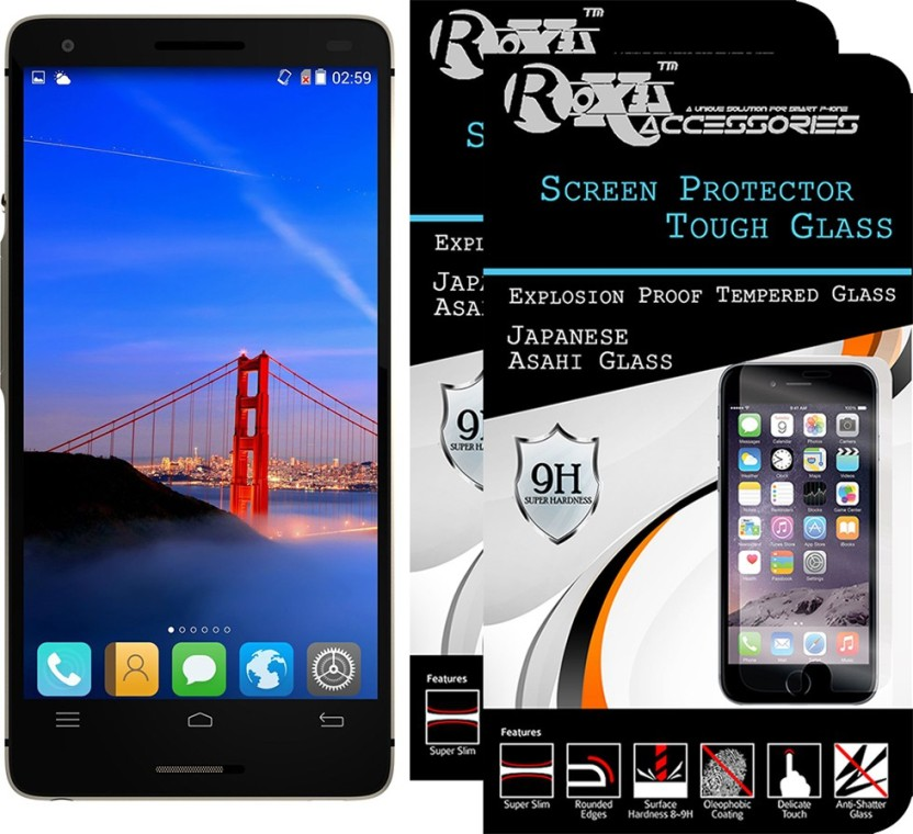Roxel Tempered Glass Guard for InFocus M810