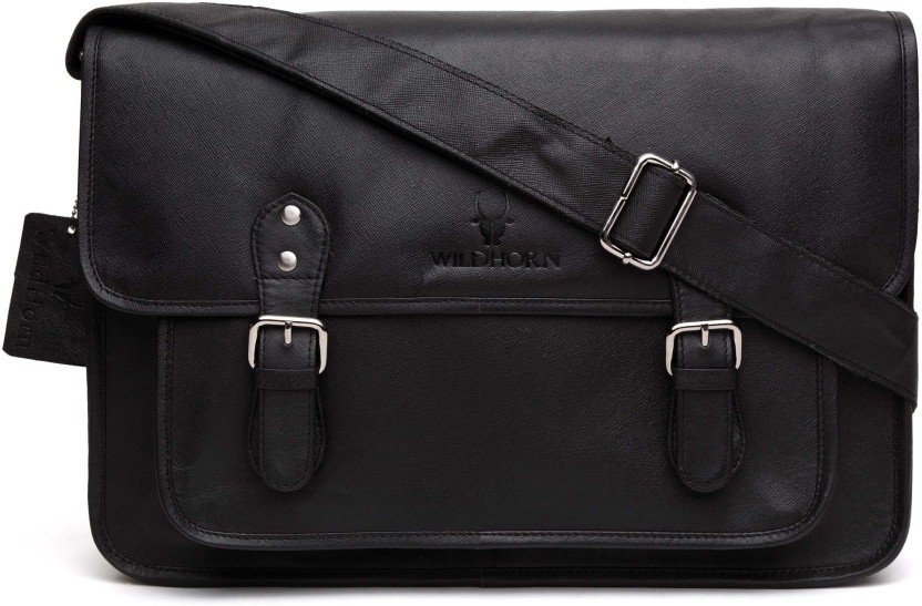 Style 98 Men Casual, Formal Black Genuine Leather Wallet