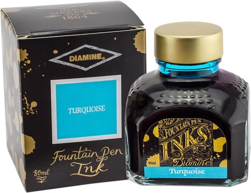Diamine Turquoise Ink Bottle