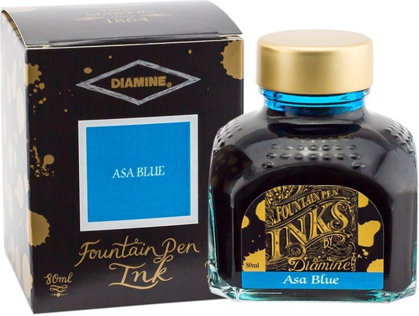 Diamine Asa Blue Ink Bottle
