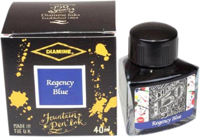 Diamine 40ml Regency Blue 150th Anniversary Ink Bottle