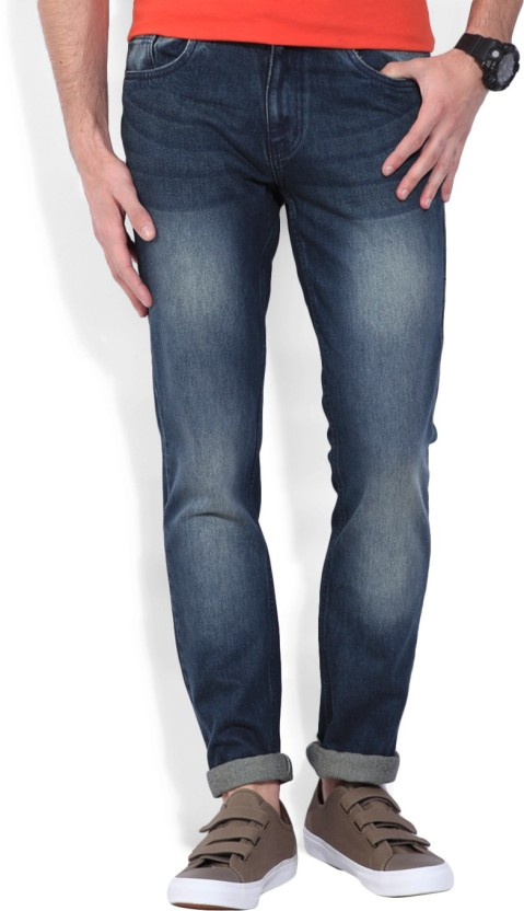 Newport Slim Men Blue Jeans